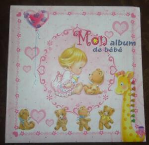 Album de bébé fille