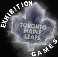 █ ▌EXHIBITION GAMES ▌█ Toronto Maple Leafs 2015/2016 ▬ ACC ▬