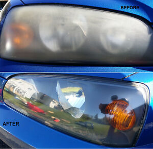HEADLIGHT RESTORATION RIGHT AT YOUR HOME!