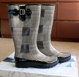 Sz 6 New Sperry Top-Sider Waterproof Rain Rubber Women's Boots
