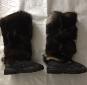 Russian Unty-Ugg Knee High Cold Weather Winter Boots