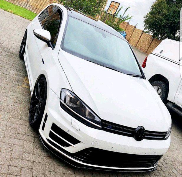 golf 7 wing spoilers and front lip johannesburg cbd. Black Bedroom Furniture Sets. Home Design Ideas