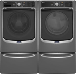 Maytag MHW5400DC Front Load Washer 4.8 Cu. Ft Dryer YMED5100DC
