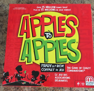 Brand New Apples to Apples game