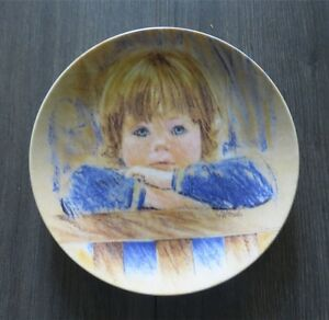 Edwin Knowles Daydreaming Collector Plate