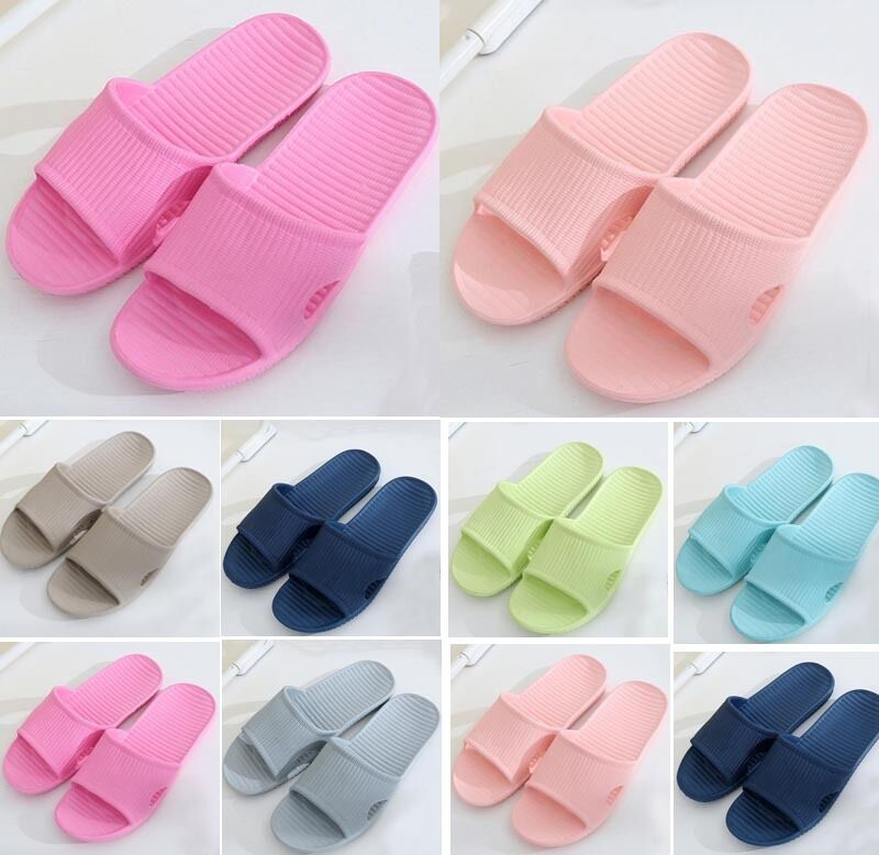 Купить Hot Soft Summer Sports Beach Shower Sandals Home Bath Slippers Women Men Shoes