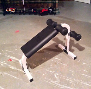 NORTHERN LIGHTS Abs crunch bench, excellent condition
