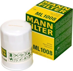 Oil Filters - Mann ML1008 and Wix 57356