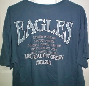 Eagles Concert T Shirt XL and Hell Freezes Over DVD Set London Ontario image 2