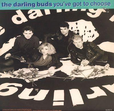 """The Darling Buds(12"""" Vinyl)You've Got To Choose-Epic-BLOND T4-UK-1989-VG+/Ex+"""