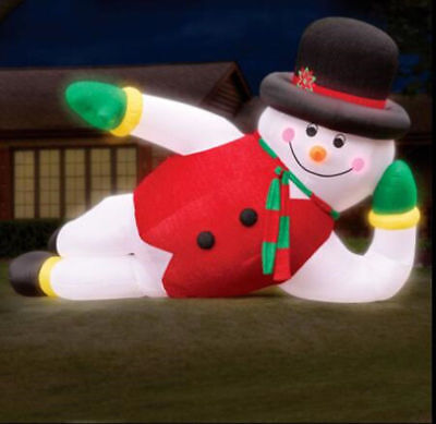 6m/20ft Giant LED Inflatable Snowman Christmas with Light n