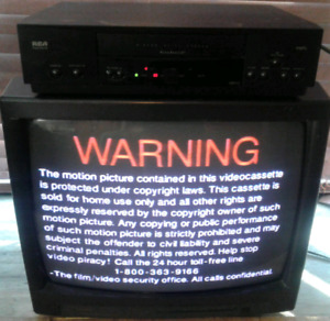 Vintage TV,  movies and VCR