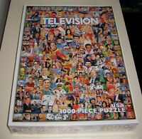 NEW 2008  -  1000 PIECE  -  TELEVISION / TV HISTORY  -  PUZZLE
