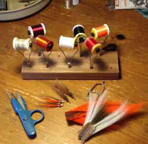 In need of fly tying materials and equipment