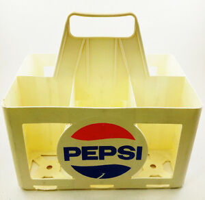 Crate PEPSI, Vintage, Plastique resistant, Condition: USAGÉ