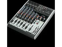 Behringer Xenyx 1204USB Mixer with box, registration, manual and cables