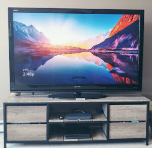 "TV 60"" SHARP AQUOS TV, Model #LC-60E69U"