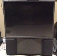 "50"" toshiba home theater view HDTV model 50h71"