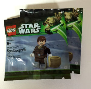Selling LEGO Star Wars Han Solo (Hoth) Minifigure - Exclusive