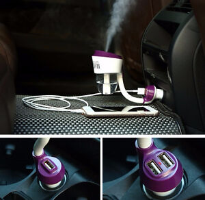 Ultrasonic Mist Essential Oil Car Diffuser with USB Port Kitchener / Waterloo Kitchener Area image 2