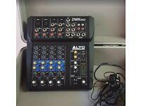 6 Channel Compact Mixer   Alto Zephyr ZMX862