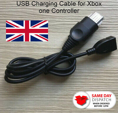 Original Xbox one Controller to Female USB Adapter Converter Cable Cord Black