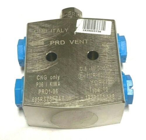 OMB Italy CNG In Line PRD Device Vent CNG Natural Gas Vehicle Parts