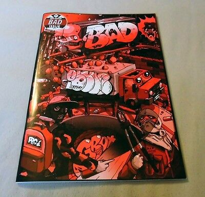 "Graffiti Magazine Graffitibox ""BAD"" Issue #02 2015 Berlin Magazin Montana"