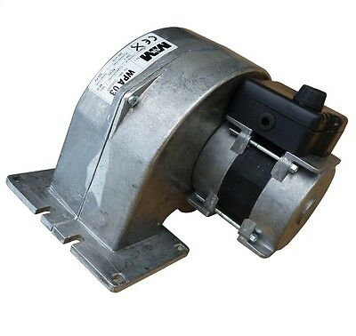 Druckgebläse Ofengebläse Holzvergaser Druckventilator mit 3 Stufen Regler