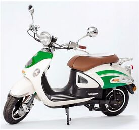 Retro Electric Scooter