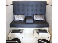 Double High-end quality spa pedicure chairs