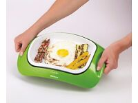 New Ariete Cuoki Portable Table Grill & Serving Tray Green Apple 700W Was: £99.99