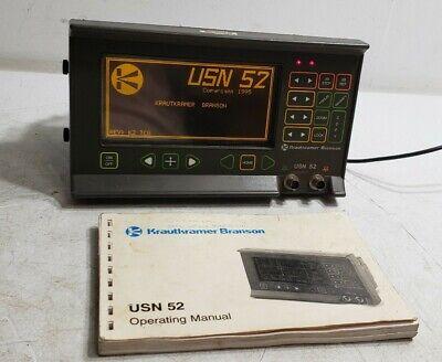 Krautkramer Branson Usn 52 Ultrasonic Flaw Detector 8