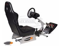 Playseats A1GP Gamers Racing Seat with Logitech G27 Racing Wheel, Pedals and Gearstick