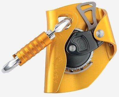 Fall Arrest Rope - Petzl ASAP Mobile Fall Arrest Rope Grab + OK Triact Carabiner Locking Climbing