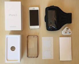 iPhone 5 unlocked 16GB Silver