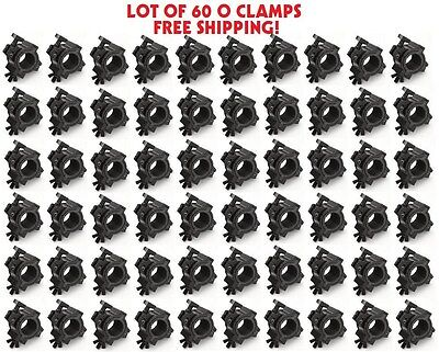 DJ LIGHTING EQUIPMENT O-CLAMP 60 PACK Mount Lights to Trussing and Pipe