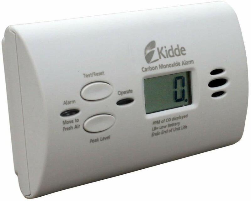 Kidde Battery Operated Carbon Monoxide Alarm With Digital Di