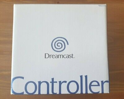 Official Sega Dreamcast Controller New Boxed - Mad Catz rumble pack MK55100-50