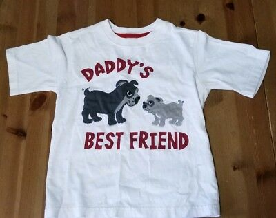 Crazy 8 Toddler Boy Cotton White T-Shirt