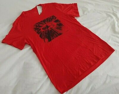 MEN'S ICEBREAKER TECH LITE MERINO Tree Top Logo design. Rocket. Large.  RRP £65.