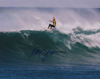 Kelly Slater Surfer SIGNED 8x10 Photo #2 COA!