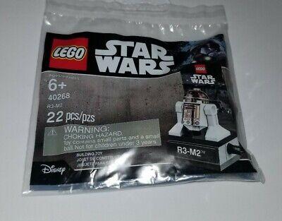 New, Sealed LEGO Polybag - Star Wars - 40268 - R3-M2