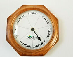 Day Clocks Day of the Week Wall Clock