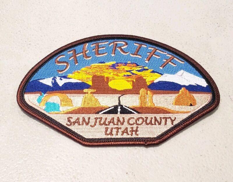 San Juan County Utah Sheriff Shoulder Patch