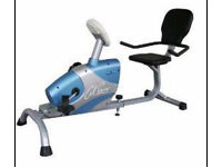 Recumbent exercise bike Can deliver