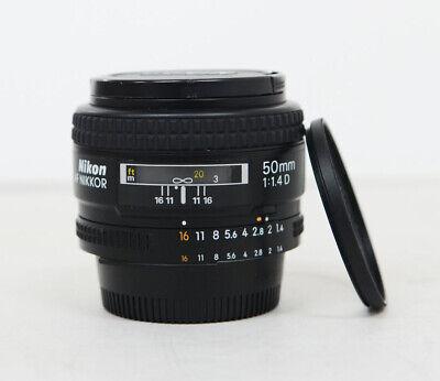 Nikon NIKKOR 50mm f/1.4 D  AF Lens 50.4D 50.4 D + filter