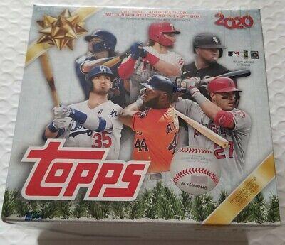 ✅⚾️2020 Topps Holiday Mega Box Sealed MLB Baseball IN HAND FREE SHIP!