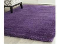 Brand new purple rug
