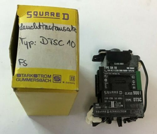 SQUARE D 9001 DTSC 10 CONTACT BLOCK PUSHBUTTON